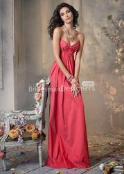 25% Off on Bridesmaid Dresses with Sleeves Taffeta