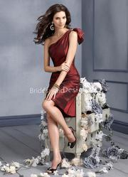 10% off on Bridesmaid Dresses with Sleeves Taffeta
