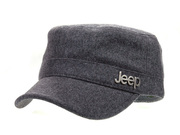 Jeep Wool Worsted Cadet Cap Gray