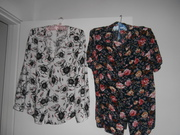 variety of women's clothing,  sizes 12-14,  prices from $5.00 - $10.00