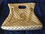 Chanel handbag gold