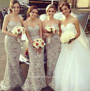 Mermaid Wedding Dresses and Trumpet Wedding Dresses By BridesmaidDesig