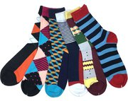 Buy Cheap Festive Happy Socks Online at Best Price