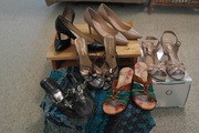 6 pairs Shoes - Size 9.5