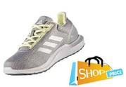 Adidas Cosmic 2 (Grey/Yellow) - Ladies