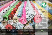 Cotton fabric clothes manufacturer | Knit ,  Jersey Fabric Wholesale