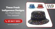 Shop For Unique Aboriginal Hats Design in Australia