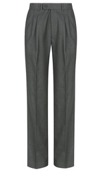 MID GREYBOYS EXTENDABLE WAIST COLLEGE TROUSER