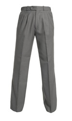 DARK GREYBOYS EXTENDABLE WAIST COLLEGE TROUSER