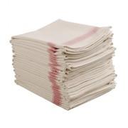 Heavy Red Single Tea Towel