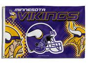 NFL Minnesota Vikings 3 Ft. X 5 Ft. Flag W/Grommetts